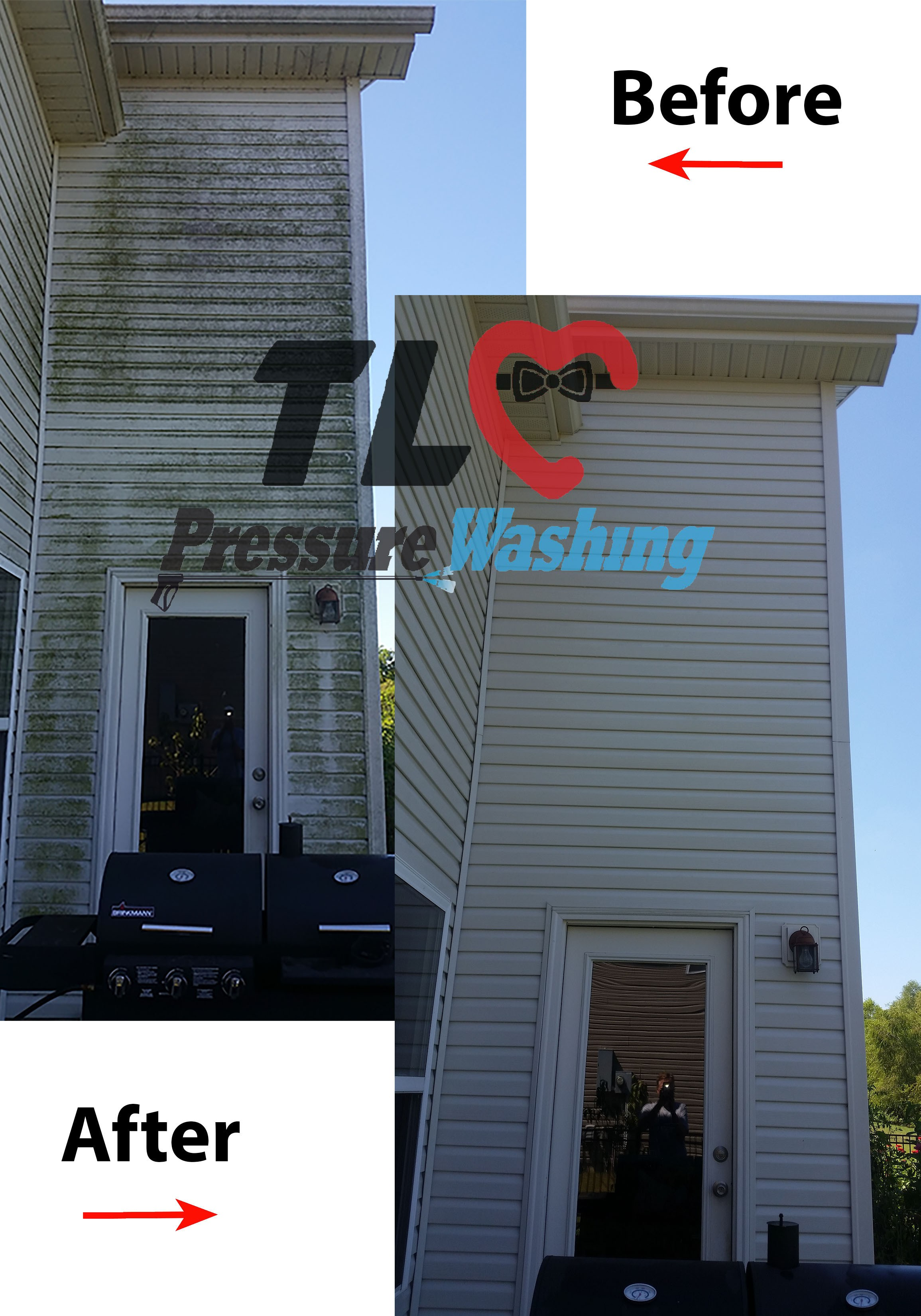House Pressure Washing Tlc Pressure Washing